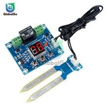 цена на XH-M214 12V Soil Moisture Sensor Module Automatic Digital Display Humidity Sensor Controller Switch Output