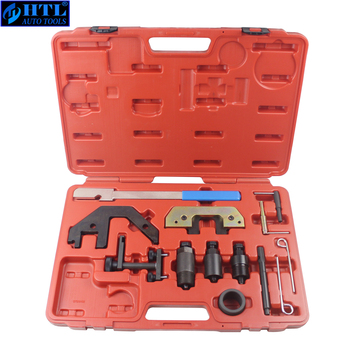 Diesel Engines Timing Tool Kit For BMW M41 M51 M47 M57 TU T2 E34 to E93 6 33mm diesel swirl flap blank repair delete removal kits rubber aluminum tool accessories for bmw previous m57