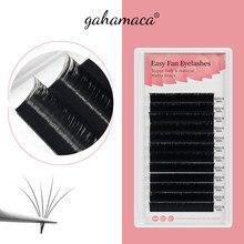 Gahamaca Gemakkelijk Fanning Wimpers Extensions Fan Wimper Bloei Flare Eye Lash Russische Lash Volume Cilia Zijde Lash
