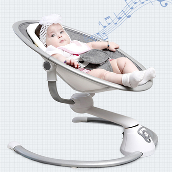 safety baby rocking chair baby Electric cradle rocking chair soothing the baby's artifact sleeps newborn sleeping rocking chair electrical baby cradle rocking chair folding baby bed cradle baby rocking newborn crib musical chair plastic toys moonlight star