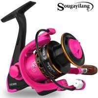 Sougayilang 5.0: 1 Bobina di filatura di Pesca 1000-3000 Serie 12BB Bobina di Metallo Bobina di Filatura Barca Rock Pesca Ruota Da Pesca