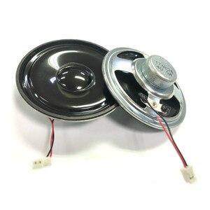 Sotamia 2 pçs 2.5 Polegada mini alto-falante alto-falante de áudio unidades 4 ohm 5w de cinema em casa altavoz 66mm à prova dwaterproof água