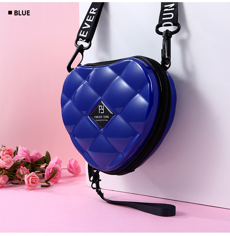 H30112a2e4e2c45c69e21257adc5670bb5 - Fashion Luxury HandBags Heart Shaped PVC Mini Shoulder Bag for Woman Fashion Designer Personality Small Box Women Purses