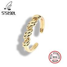 S'steel 925 пробы Серебряные кольца для Для женщин Персонализированные