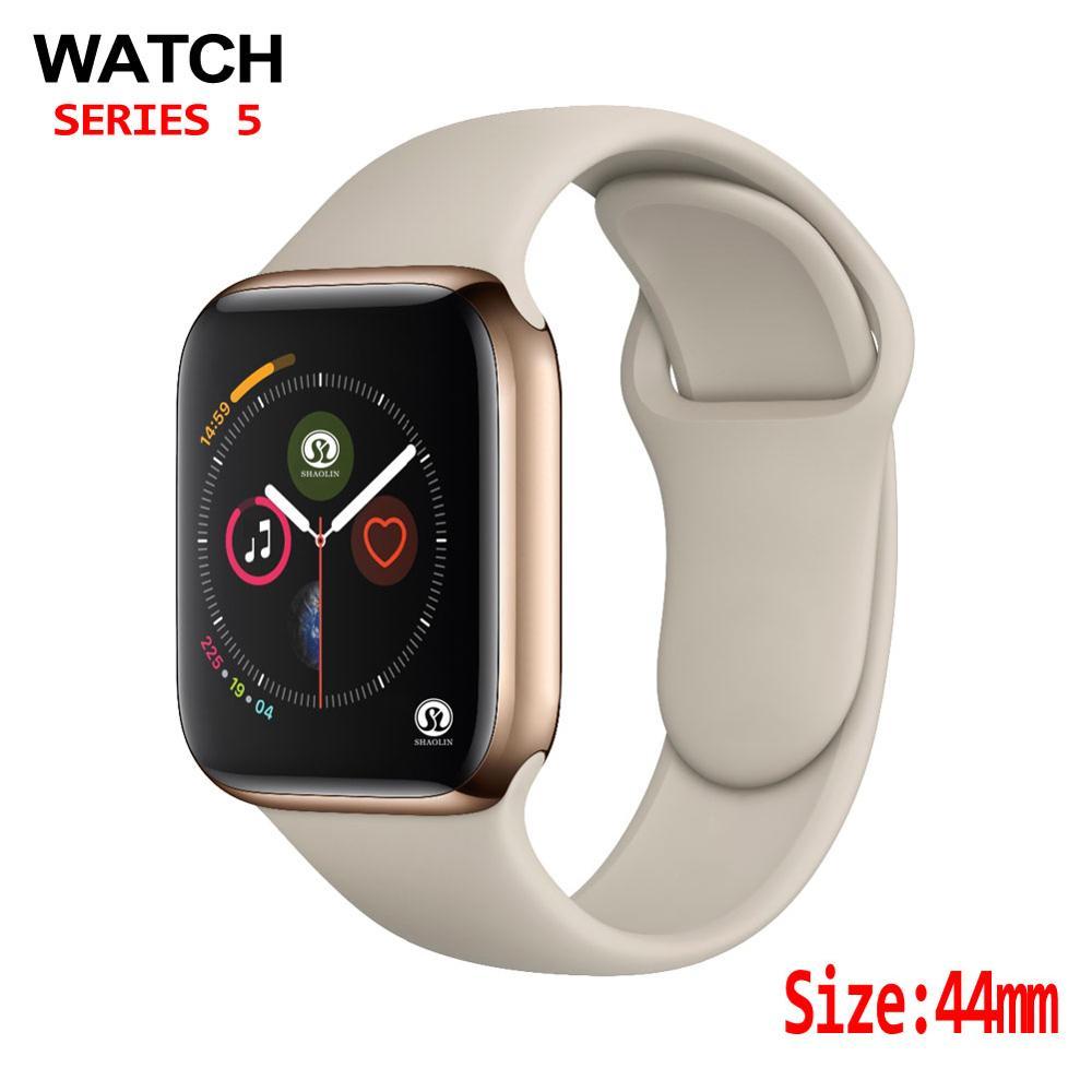 44 мм Смарт-часы 4 сердечного ритма для мужчин для женщин смарт-чехол для часов apple Watch iPhone Android телефон Обновление не apple Watch