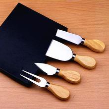 4 шт/компл деревянной ручкой комплекты бард набор дуб бамбуковый