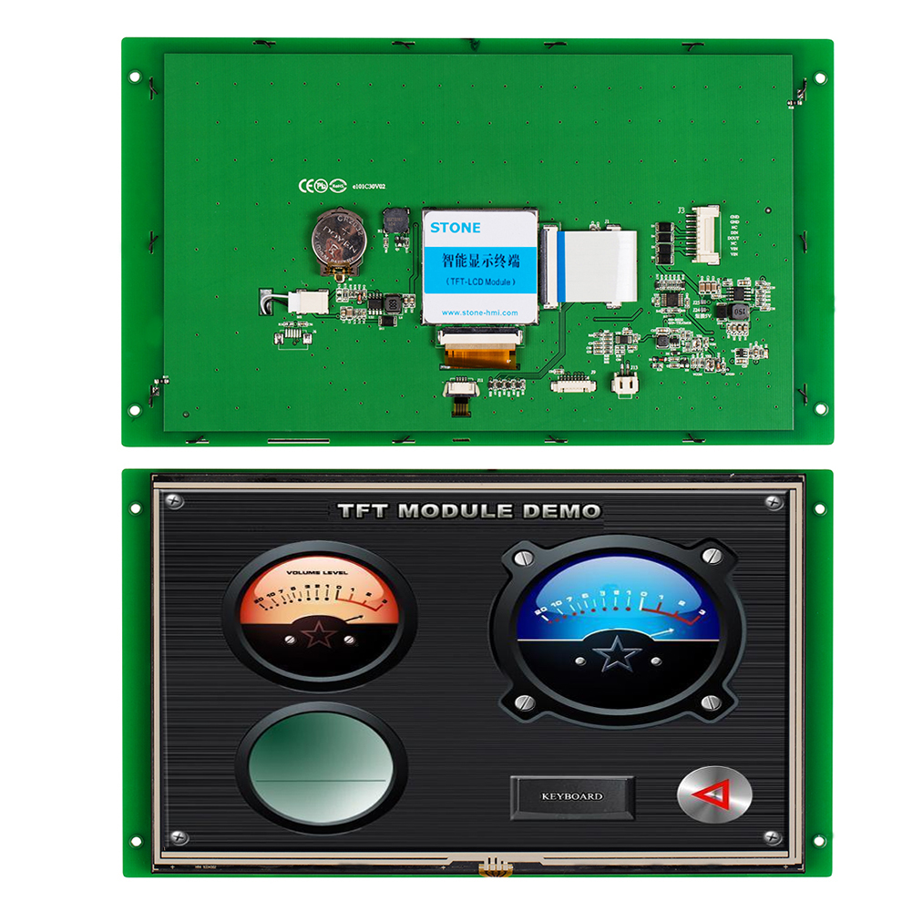 STONE 10.1 Inch HMI TFT  LCD Touch Screen Display Monitor Panel With RS232/RS485/TTL For Industrial Use