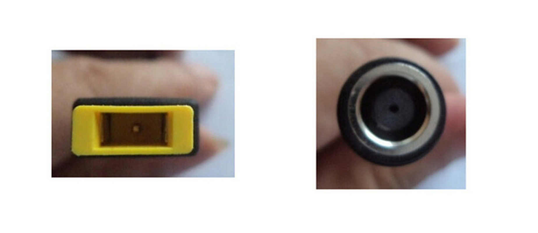 Cable conversor adaptador de corriente para IBM JRGK 7,9*5,5mm conector redondo a enchufe cuadrado adaptador de extremo cargador de coleta para Lenovo Thinkpad