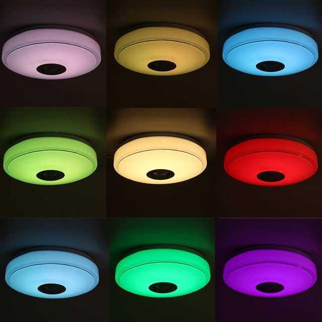 200W Wifi Moderne Rgb Led/Smart Plafond Lamp + afstandsbediening 5