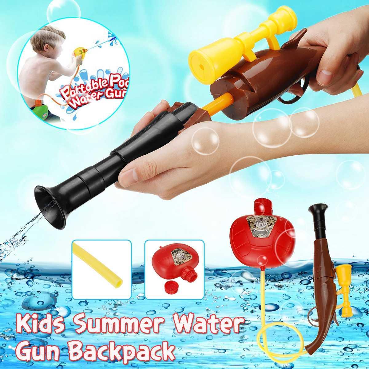 Big Tank Summer Water G Un Fireman Backpack Water G Un Large  Water Squirt For Beach Lake Swim Children Gift