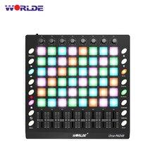 WORLDE PAD 3 – contrôleur de batterie MIDI USB, avec curseur rétroéclairé, Instruments de musique électroniques, 48/64, nouvelles spécifications