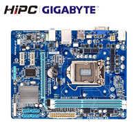 Gigabyte GA-H61M-S1 placa-mãe h61 lga 1155 i3 i5 i7 ddr3 16g micro-atx H61M-S1 usado mainboard