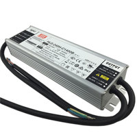 Original Taiwan Meanwell LED Driver hlg 240h c1400b 250W dimmable power supply IP65 for 5pcs cree cxb3590/clu048 1212
