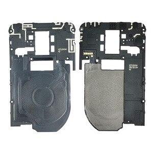 Para LG G7 G710EM G710PM marco trasero placa base Tablero Principal cubierta de Panel de antena Wifi NFC antena Flex Cable