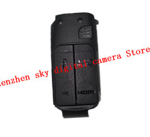 New rubber For canon 6D DSLR usb rubber 6D rubber camera repair parts