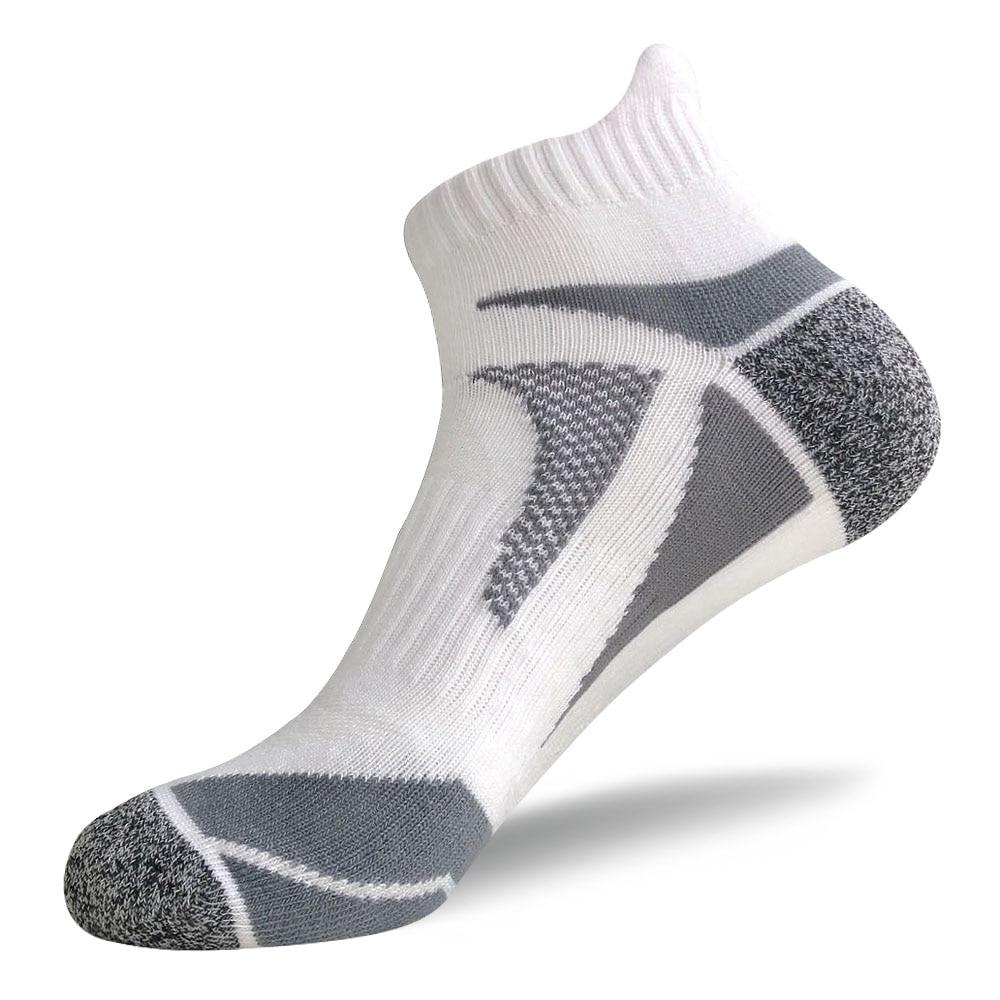 Unisex Adults Running Sport Cycling Socks Ankle Breathable Sports Bike Sock Cut