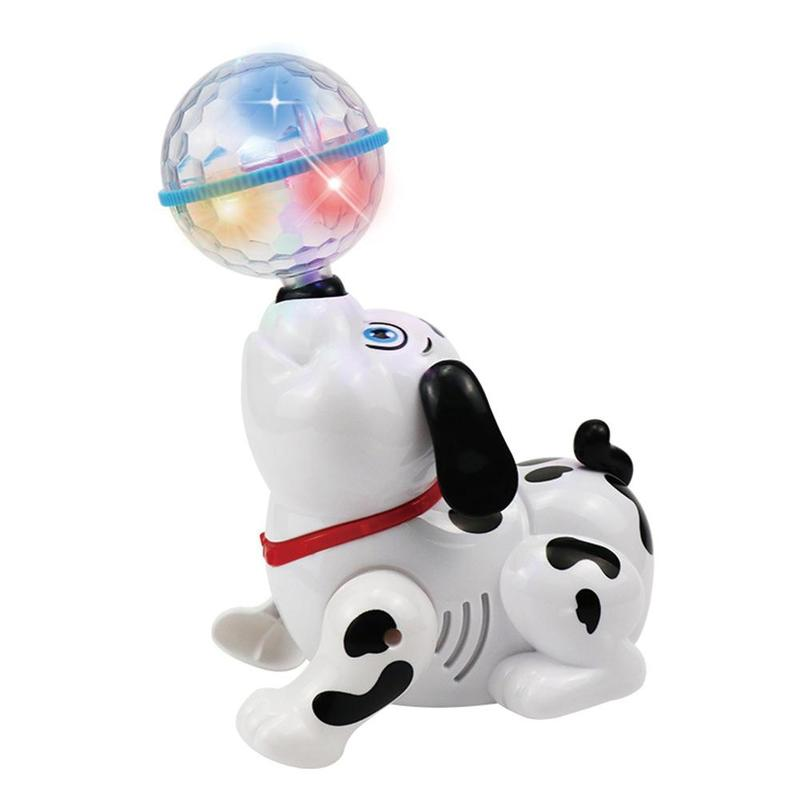 Electric Robot Dog Toys 3D Light Dancing Sing Glowing Music Pet Intelligence Puppy Toys Walking Animals Toys For Children Gifts