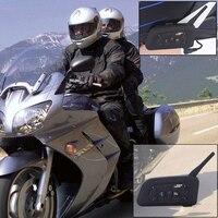 1 Set V6 Pro Motorcycle Helmet Bluetooth Headset Intercom 6 Riders 1200M Wireless Intercomunicador MP3 GPS BT Interphone Systerm|Helmet Headsets| |  -