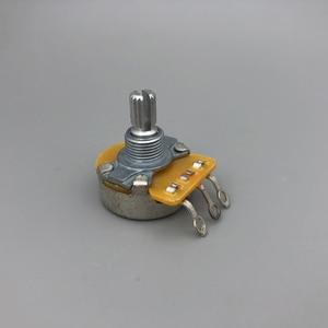 CTS подлинный 250K линейный потенциометр для гитары горшок с низким крутящим моментом и низким уровнем шума