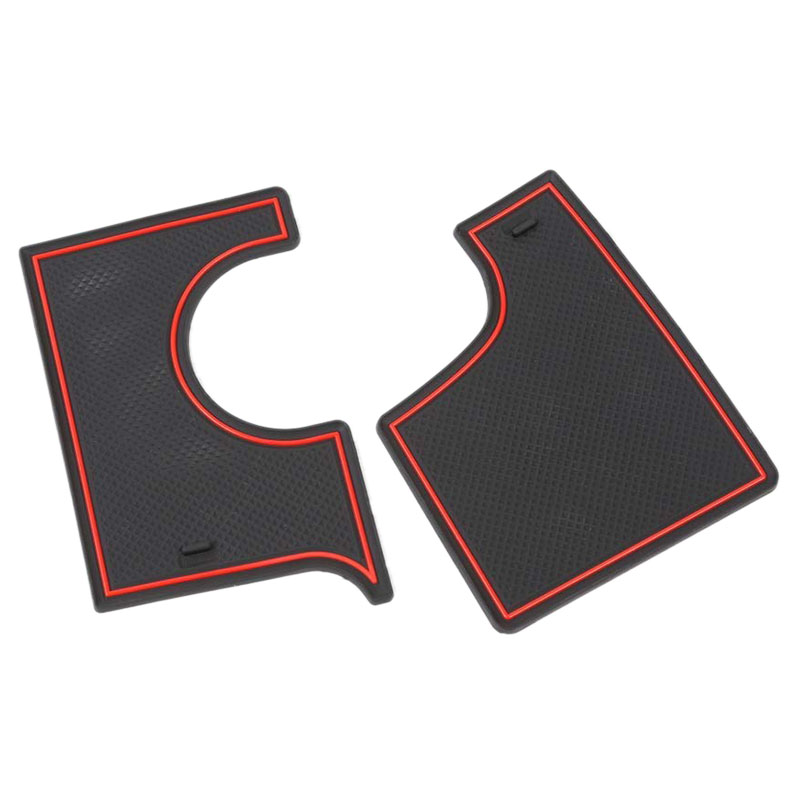 Door Pocket Liners Cup Holder Pads Console Mats for Dodge Charger 2015 2016 2017 2018 2019 Accessories (22Pcs)