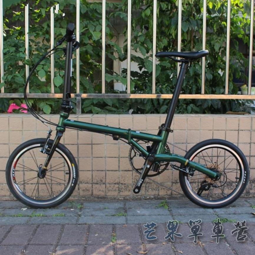 Fnhon складной велосипед 16