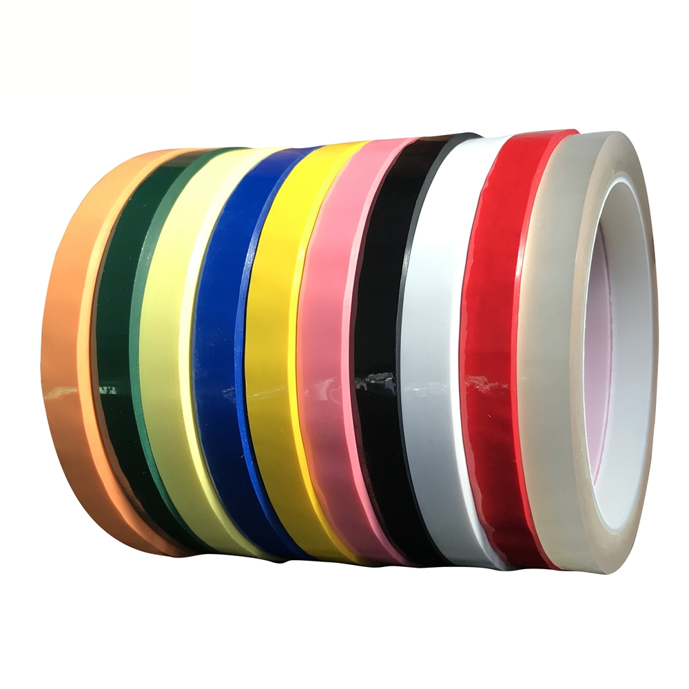 66Meters/Roll, 2mm~100mm Wide Adhesive Insulation Mylar Tape for Transformer, Motor, Capacitor, Coil Wrap, Anti-Flame Yellow