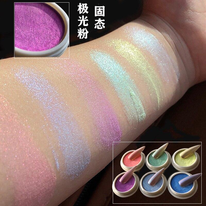2020 Nail Solid Aurora Powder Net Red Ice Transparent Nude Powder Symphony Nail Mermaid Powder Mirror Powder Fairy Powder