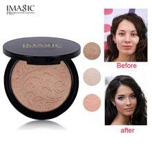 IMAGIC Highlighter Powder Fashion Women Bronzer powder High lighter makeup professional brightening facial contour