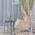 Белый гамак в скандинавском стиле  открытый  закрытый  для сада  спальни  подвесное кресло для детей  для взрослых  качающийся  одиночный  без...