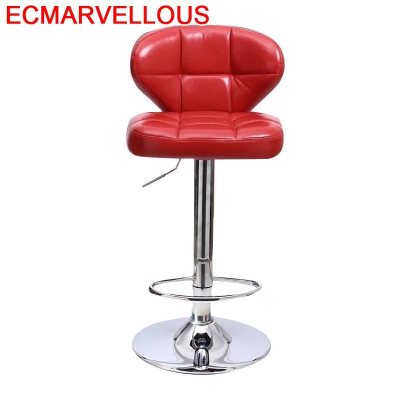 Fauteuil Sandalyeler Industriel Table Banqueta Todos Tipos Taburete La Barra Leather Silla Cadeira Tabouret De Moderne Bar Chair