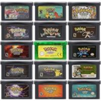 Image 1 - 32 Bit video oyunu kartuşu konsolu kart Nintendo GBA Pokeon SeLiquid ries kristal Top gizli ikinci baskı