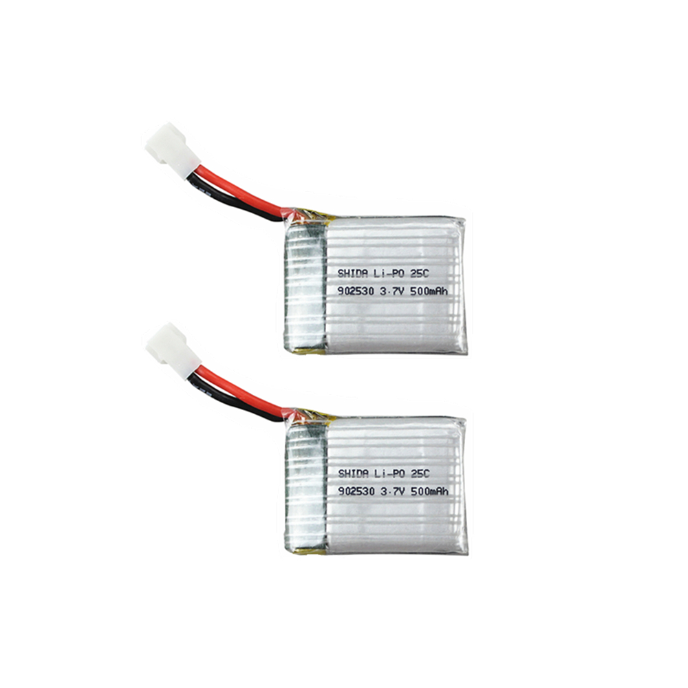 902530 <font><b>500mAh</b></font> <font><b>3.7V</b></font> <font><b>Lipo</b></font> <font><b>Battery</b></font> for Wltoys F949 V931 K123Airplane Helicopter 25C high quality Li-Po <font><b>Battery</b></font> image