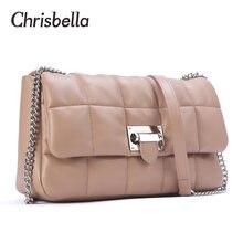 Женская сумка через плечо chrisbella Повседневная Дамская клатч
