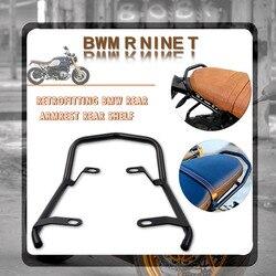 For BMW R Nine T RNineT Rnine R9T Pure Racer Scrambler 2014-2020 Motorcycle Rear Seat Luggage Rack Fender Saddlebag Cargo Shelf