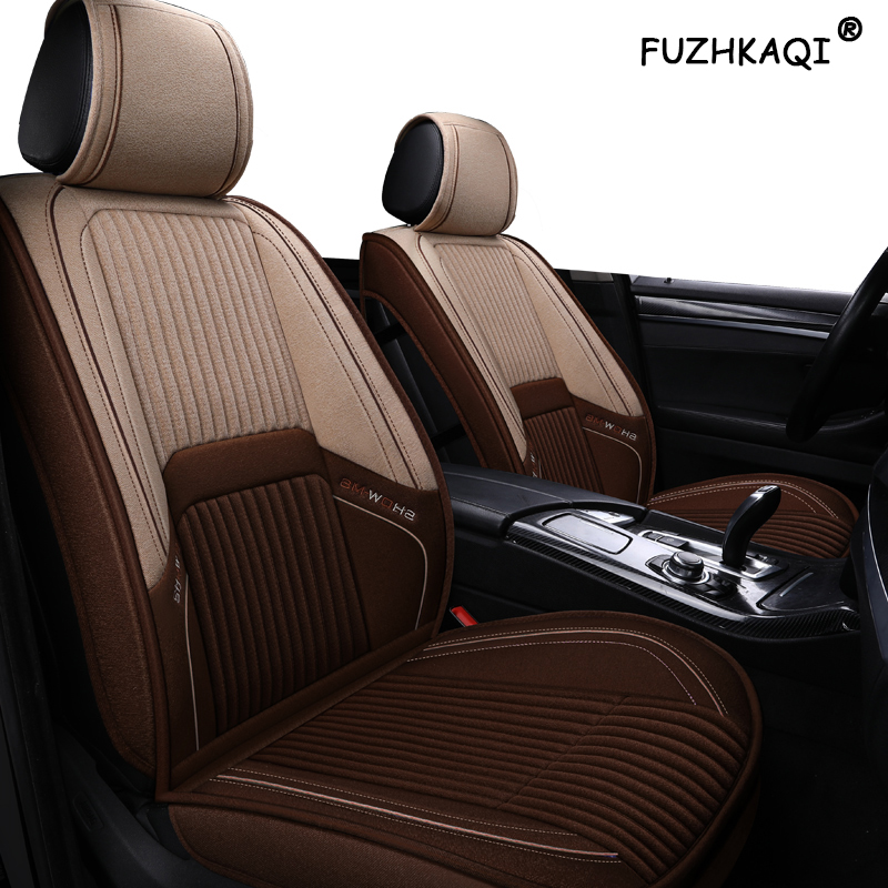 FUZHKAQI flax car seat covers For LEXUS ES LS GS RX270 RX350 RX450h RX300 RX330 RX400h <font><b>RX200</b></font> NX200 NX300 NX300h seat cover cars image