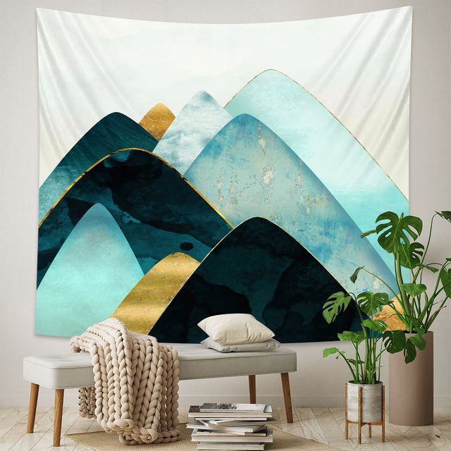 Abstract Landscape Wall Tapestry 5