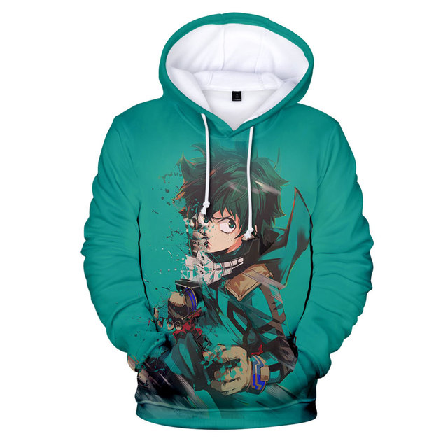 MY HERO ACADEMIA THEMED 3D HOODIE (28 VARIAN)