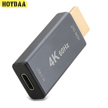 USB C Female to HDMI Male Adapter Thunderbolt 3 Converter 4K 60Hz Type C 3.1 to HDMI Adapter for MacBook USB-C PC Mobile Phone