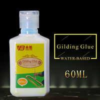 Vergoldung Kleber Gold Blatt Folie Wasser Basierend Umwelt Kleber für Gold Folie Silber Blatt 60 Ml Gute Viskosität Vergoldung Klebstoff