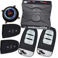 Cardot pke keyless passivo sistema de entrada começo remoto botão de parada de início automático alarme de carro remoto