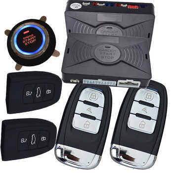 cardot pke passive keyless entry system remote start push start stop button auto remote car alarm - DISCOUNT ITEM  10% OFF All Category