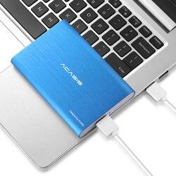 أكسيس 2.5 المحمولة قرص صلب خارجي 1t/500gb/2t USB3.0 محرك أقراص صلبة HDD لأجهزة الكمبيوتر المحمول سطح المكتب 320gb