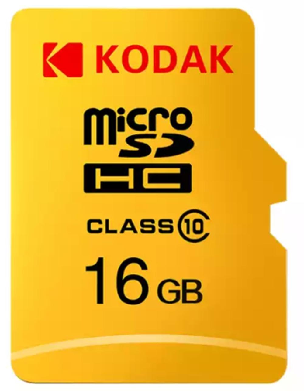 KODAK Micro Card 16GB 32GB SDHC 128GB 256GB SDXC UHS-I U3 V30 A1 4K Ultra Class 10 TF Card High Speed Card For Video Camera