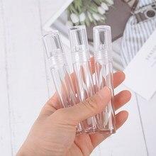 1PC 3.5ml vuoti contenitori per lucidalabbra trasparenti tubi rotondi trasparenti cosmetici per lucidalabbra tubi per lucidalabbra con bacchetta