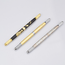1 Pc Eyebrow Microblading Pen with 2 Blades Manual Tattoo Pen for Permanent Makeup Pen Tebori Pen Eyebrow Tattoo 20 pcs manual eyebrow permanent makeup pen tattoo machine microblading munsu tebori pen tattoo rotary pen by free shipping