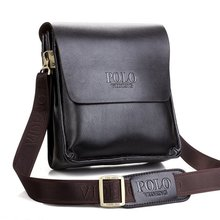 Famous Brand Leather Men Bag Casual Business Leather