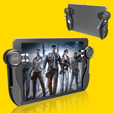 NEW Ipad Trigger PUBG Game Controller Six Finger L1R1 Fire Aim Button Gamepad Joystick For