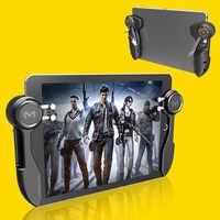 Nuevo Ipad Trigger PUBG controlador de juego seis dedos L1R1 Fire Aim botón Gamepad Joystick para Tablet Smartphone accesorios de juego
