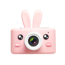 Children'S Digital Camera Baby Mini Toy Simulation Mini Small Slr Cartoon Photo Protection Leather Case(China)