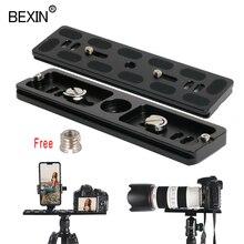 BEXIN, длинный штатив для камеры, быстросъемная пластина, быстросъемный кронштейн, крепление для камеры, пластина для dslr камеры, штатив с 1/4 винтом